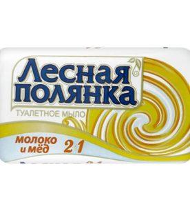 Туалетное мыло Лесная полянка Молоко и мед