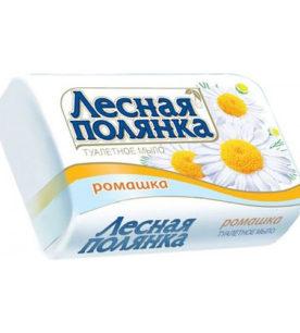Туалетное мыло Лесная полянка Ромашка 90 г оптом