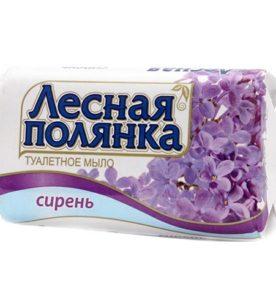 Туалетное мыло Лесная полянка Сирень 90 г оптом