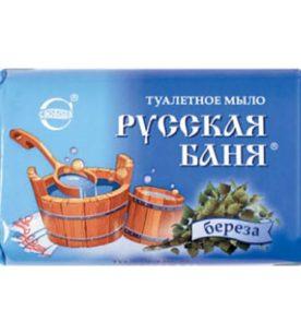 Туалетное мыло Русская баня Береза 100 г оптом