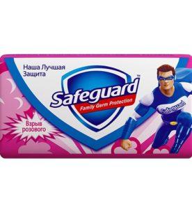 Туалетное мыло Safeguard Взрыв розового 90 г оптом
