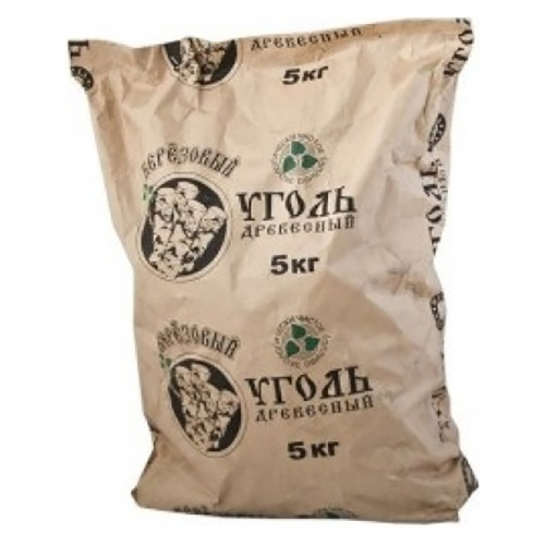 Уголь древесный ЭКО Березовый 5 кг оптом