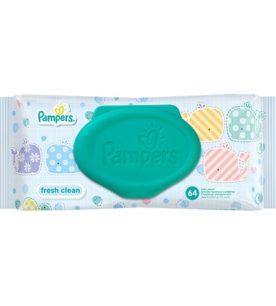Влажные салфетки Pampers Fresh Clean 64 шт оптом