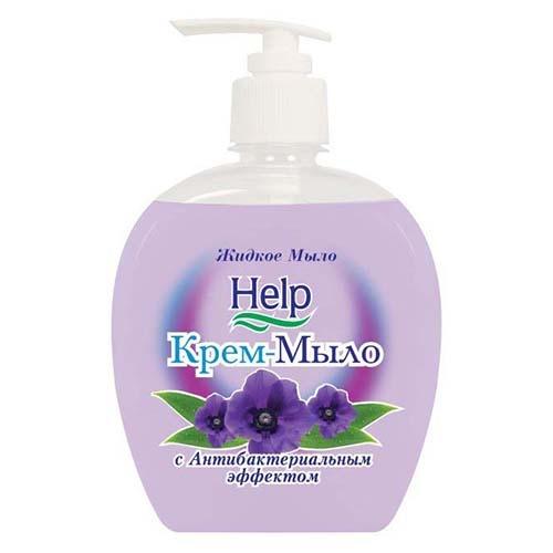 Жидкое мыло Help С антибактериальным эффектом 300 мл оптом