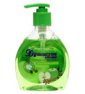 Жидкое мыло Колокольчик Яблоко и корица 1 л оптом