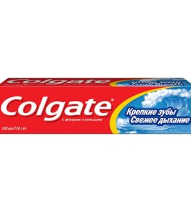 Зубная паста Colgate Крепкие зубы
