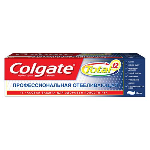 Зубная паста Colgate Total 12
