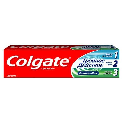 Зубная паста Colgate Тройное действие 100 мл оптом
