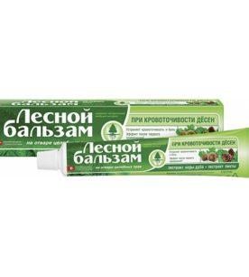 Зубная паста Лесной бальзам Экстракт коры дуба и пихты 75 мл оптом