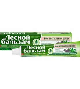 Зубной ополаскиватель Лесной бальзам Экстракт шалфея