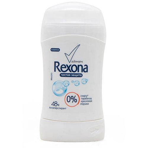 Дезодорант стик Rexona Чистая защита 40 г оптом