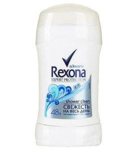 Дезодорант стик Rexona Кристальная чистота 40 г оптом