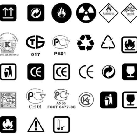 Этикетки для бытовой химии: требования и маркировка