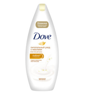 Гель для душа Dove Драгоценные масла 250 мл оптом