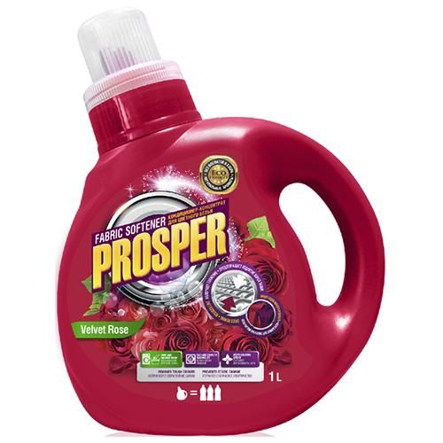 Кондиционер для белья Prosper Бархатная роза 1 л оптом