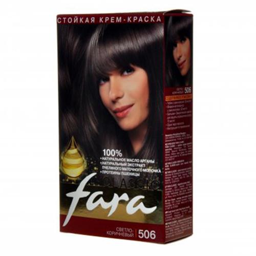 Краска для волос Fara Classic №506 Светло-коричневый 135 мл оптом