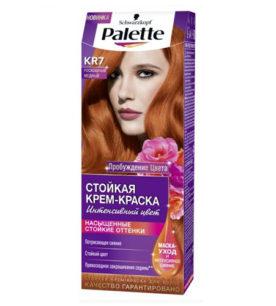 Краска для волос Palette КR7 Роскошный медный 110 мл оптом
