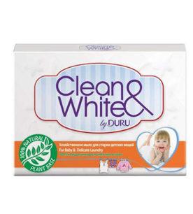 Мыло Duru Clean&White