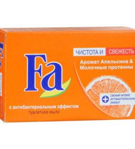 Мыло Fa Аромат апельсина и молочные протеины 90 г оптом