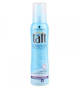 Пена для волос Taft №4 Ultra Pure
