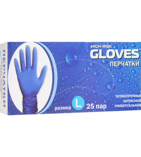 Резиновые перчатки LINGER High Risk