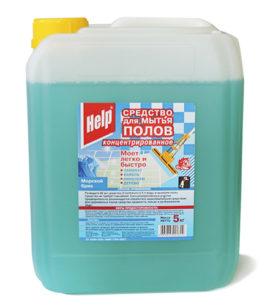 Средство для мытья полов Help Концентрированное 5 кг оптом