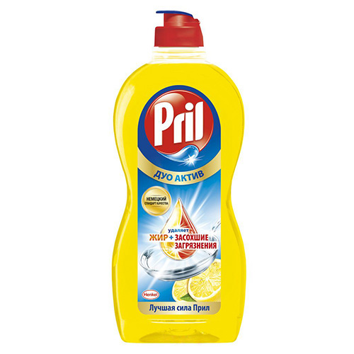 Средство для мытья посуды Pril Дуо Актив