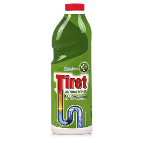 Средство для удаления засоров Tiret Antibacterial 1 л оптом