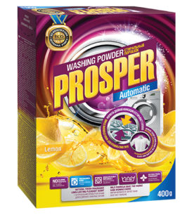 Стиральный порошок Prosper Лимон 400 г оптом