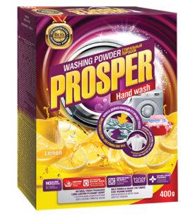 Стиральный порошок для ручной стирки Prosper Лимон 400 г оптом