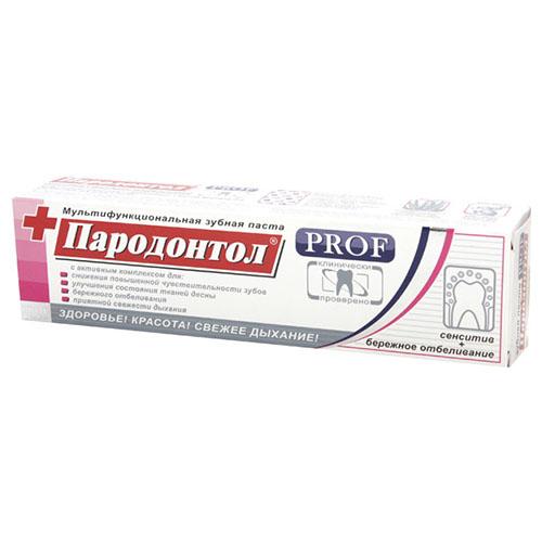 Зубная паста Пародонтол PROF