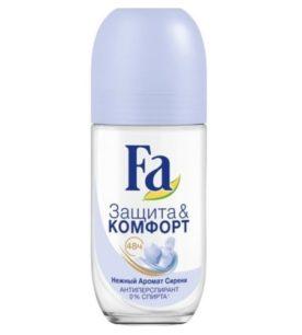 Дезодорант роликовый Fa Нежный аромат сирени 50 мл оптом