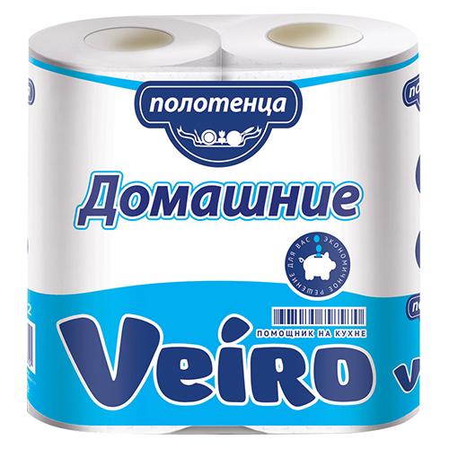 Полотенца Veiro 2х-слойные