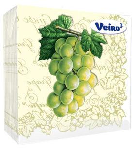 Салфетки Veiro 2х-слойные