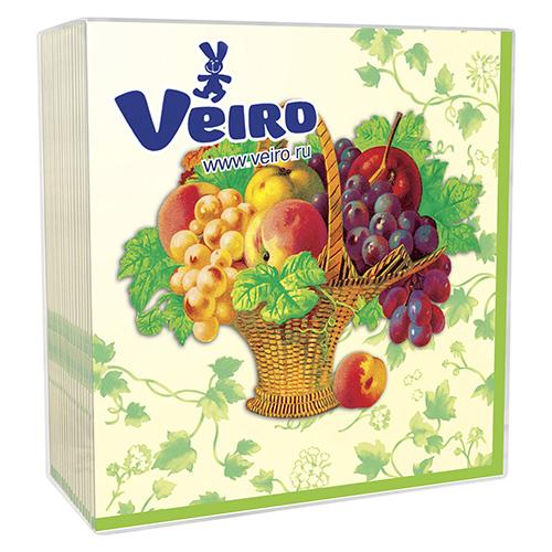 Салфетки Veiro 3х-слойные