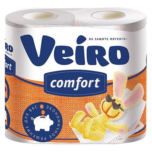 Туалетная бумага Veiro 2х-слойная