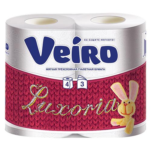 Туалетная бумага Veiro 3х-слойная