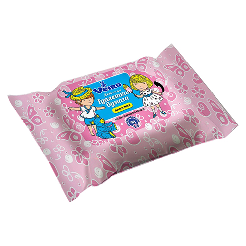 Влажная туалетная бумага Veiro Детская