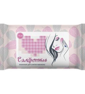 Влажные салфетки Veiro Для снятия макияжа