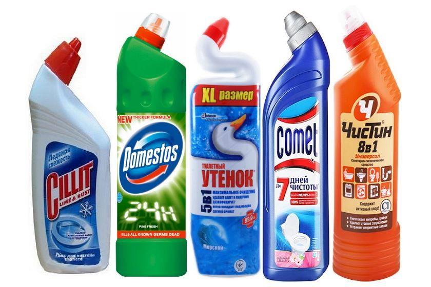 лучшее чистящее средство для унитаза