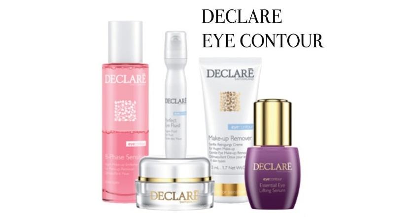 «Eye Contour» - серия люкс-кремов для лица косметики Declare