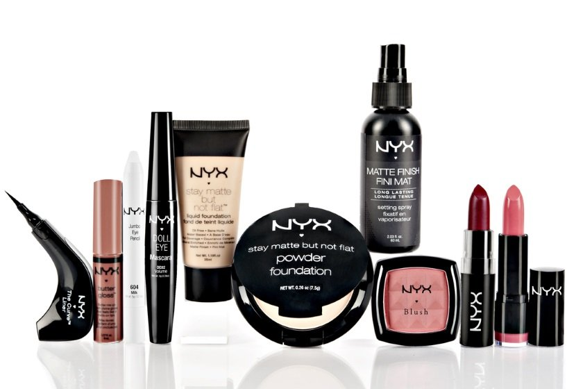 Косметические продукты компании NYX