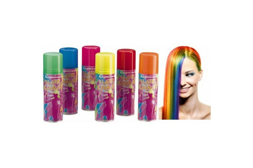 Краска для волос розовая смывающаяся