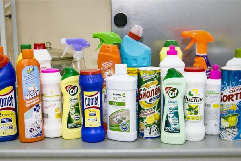моющие средства для уборки дома