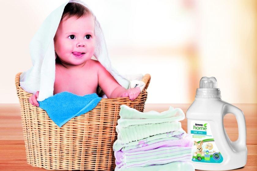 стиральный порошок для новорожденных