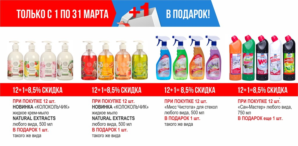 ТБХ март акции