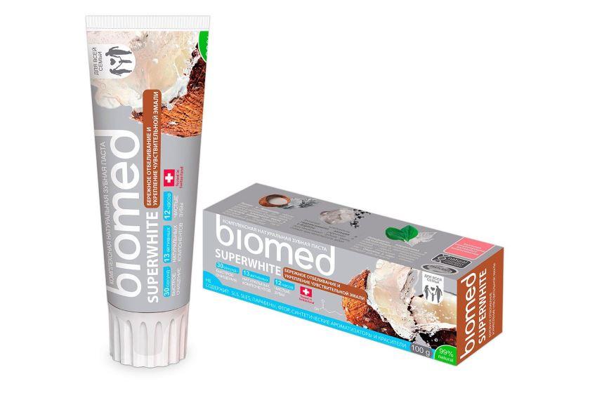 зубная паста биомед состав