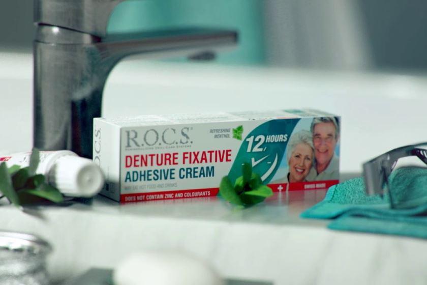 зубная паста для зубных протезов