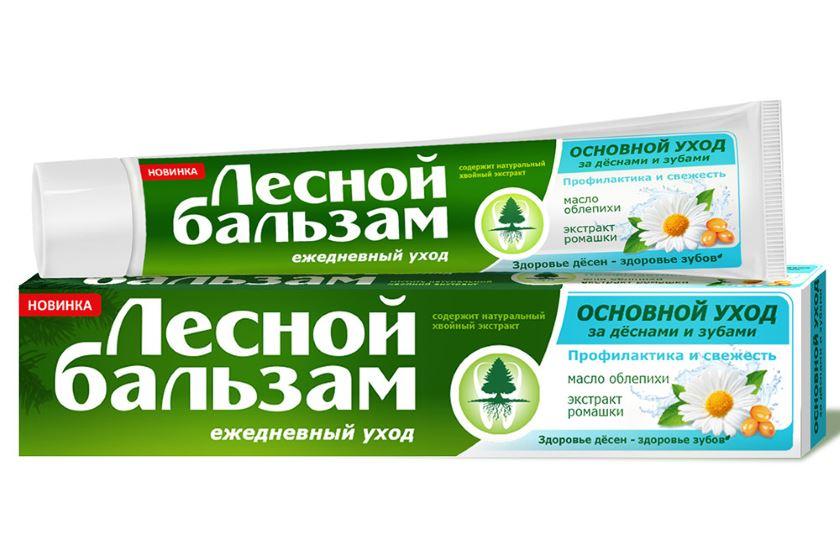 зубная паста лесной бальзам состав