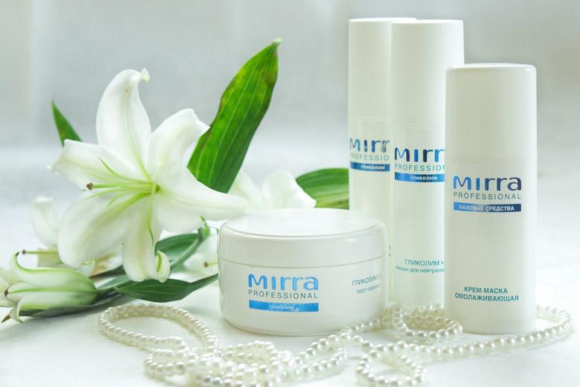Mirra – средства по уходу за лицом, телом и волосами